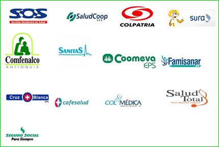 Logos de EPS Colombia